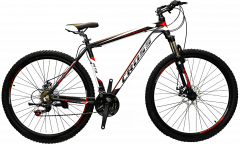 Велосипед CrossBike Hunter 20 Black-White-Red (29CJA18-13-6)