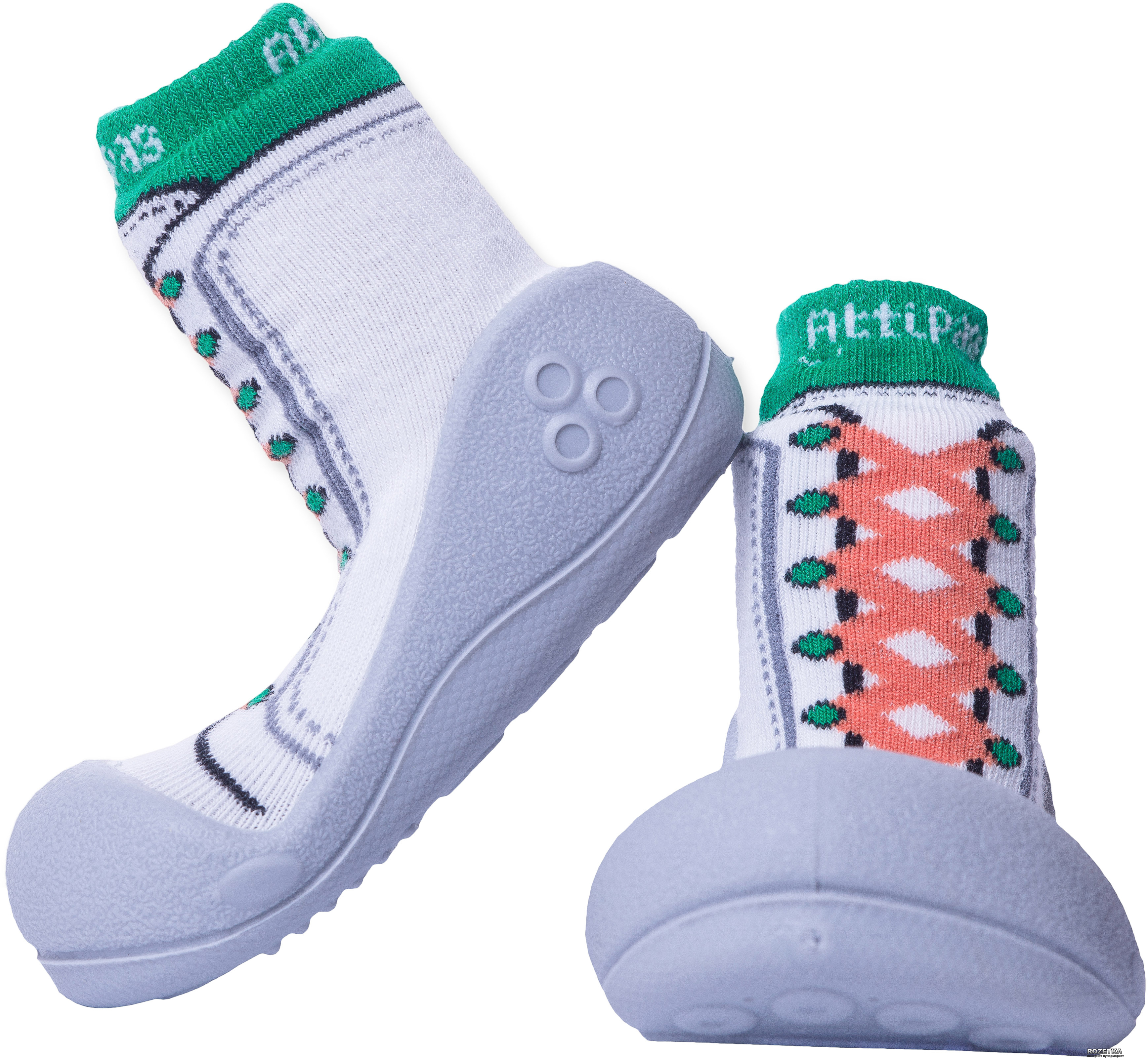 Пинетки Attipas new sneakers AZ04-Green-21.5 116-125 мм (8809344909138) 04251d4e00f42