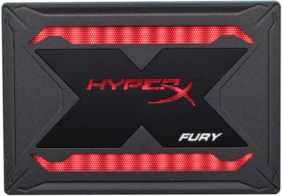 "Kingston SSD HyperX Fury RGB 480GB 2.5"" SATAIII TLC (SHFR200/480G)"