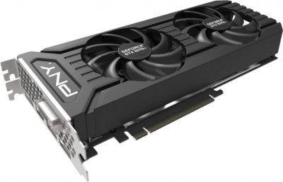 PNY PCI-Ex GeForce GTX 1070 Ti Twin Fan 8GB GDDR5 (256bit) (1607/8000) (DVI, HDMI, 3 x DisplayPort) (VCGGTX1070T8PB-BB)