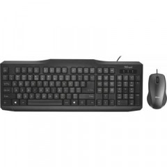 Комплект Trust Classicline Wired Keyboard and Mouse UKR (21873)