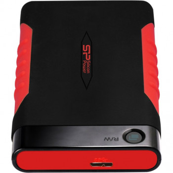 Silicon Power 2TB Armor A15 Black/Red (SP020TBPHDA15S3L)