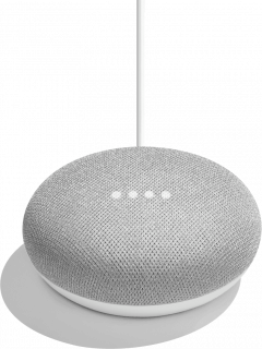 Акустика Google Home Mini  Chalk