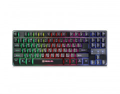 Клавиатура REAL-EL Gaming 8710 TKL Backlit USB черный