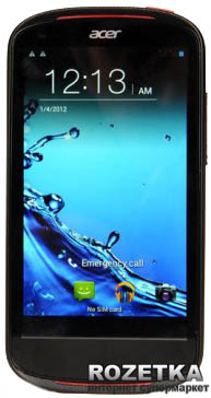 Acer Liquid E1 Duo (V360) Black (HM.HBPEU.001)