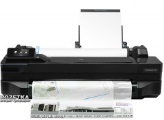 HP DesignJet T120 with Wi-Fi (CQ891B) + USB cable