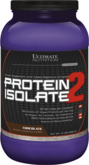 Протеин Ultimate Nutrition Protein Isolate 2 907 г Chocolate (99071007803)