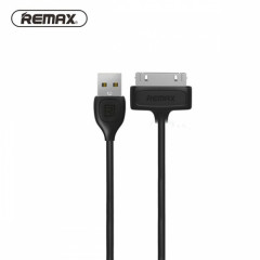 Кабель USB 30-pin Remax OR Lesu RC-050i iPhone 4 4S 1m черный