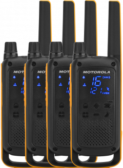 Рации Motorola TALKABOUT T82 EXTREME QUAD PACK WE