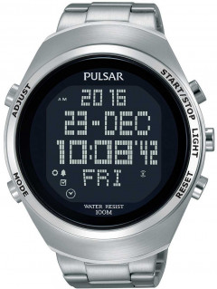 Часы Pulsar PQ2055X1 Digitaluhr 46mm 10ATM