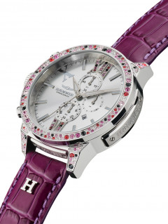 Часы Haemmer DSC-14 Imperia II Purple Chronograph 45mm 10ATM