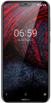 Nokia 6.1 Plus 4/64GB Dual Sim Black