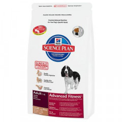 Сухой корм для собак Hill's Science Plan Canine Adult Advanced Fitness Medium Lamb & Rice 3 кг