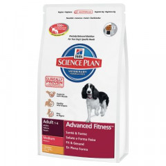 Сухой корм для собак Hill's Science Plan Canine Adult Advanced Fitness Medium Chicken 2,5 кг