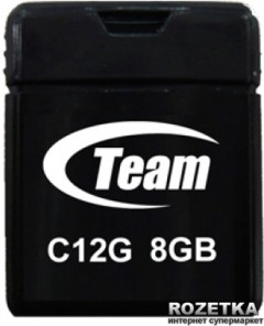 Team C12G 8Gb Black (TC12G8GB01)
