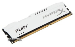 Оперативная память HyperX DDR3-1600 8192MB PC3-12800 FURY White (HX316C10FW/8)