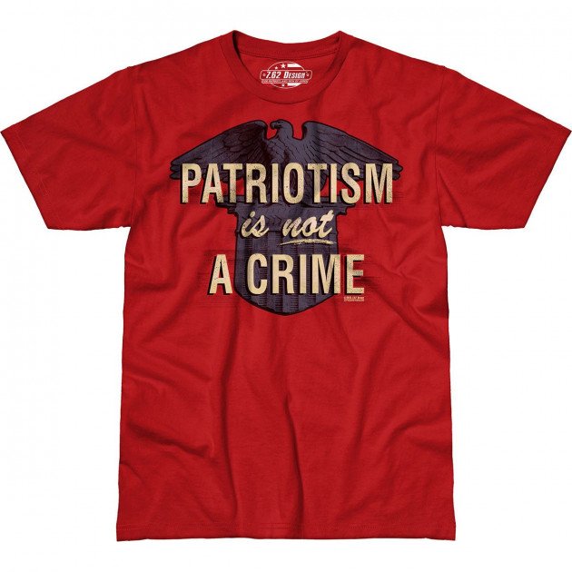Футболка 7.62 Patriotism Is Not A Crime L Красный (762-001-555RD)