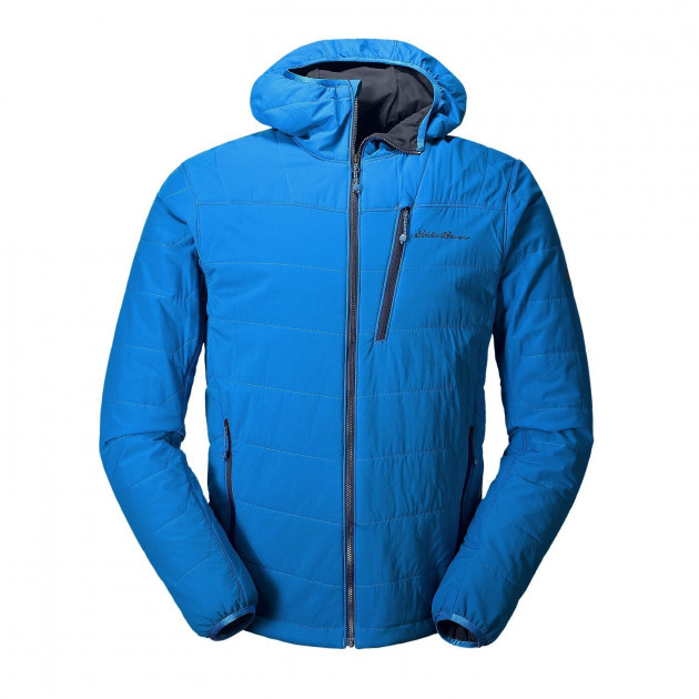 Куртка Eddie Bauer Mens IgniteLite Flux Stretch Hooded Jacket ASCENT BLUE M Голубой (792-0025ACBL)