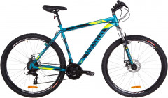 "Велосипед Discovery Trek AM 14G DD 20"" 29"" 2019 Malakhit/Yellow (OPS-DIS-29-038)"