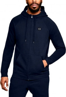 Толстовка Under Armour Sportstyle 2X Full Zip 1320722-408 M Синяя (191480964118)