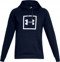 Худи Under Armour Rival Fleece Logo Hoody 1329745-408 S Синее (192006917021)