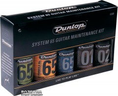 Набор средств Dunlop 6500 System 65 Guitar Maintenance Kit
