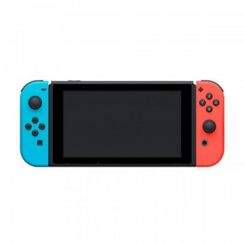 Nintendo Switch Neon Blue-Red + Игра Super Mario Odyssey (русская версия)