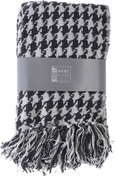Плед Home&Styling Collection 130x170 см Серый (A35790700_gray)