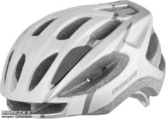 Велосипедный шлем Specialized Sierra HLMT CE 50-58 см White (60815-1214_WHT/SIL ARC)