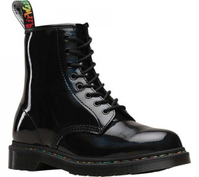 d886cc656 Женские ботинки Dr. Martens 1460 8-Eye Boot Black Rainbow Patent Leather 43  (