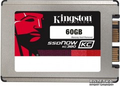 "Kingston SSDNow KC380 60GB 1.8"" SATAIII (SKC380S3/60G)"