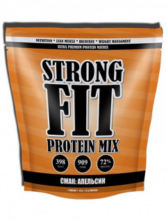 Протеин Strong Fit Protein Mix 909 g /22 servings/ Апельсин 909 г