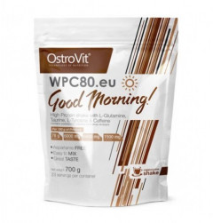 Протеин OstroVit WPC80.eu Good Morning 700 g /23 servings/ Cappuccino Shake 700 г