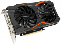 Gigabyte PCI-Ex GeForce GTX 1050 TI G1 Gaming 4GB GDDR5 (128bit) (1366/7008) (DVI, 3 x HDMI, DisplayPort) (GeForce GTX Gigabyte 1050 ti nVidia)