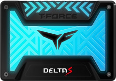 "Team SSD T-Force Delta S RGB 500GB 2.5"" SATAIII 3D NAND TLC (T253TR500G3C312) Black"