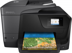 МФУ HP OfficeJet Pro 8710 with Wi-Fi (D9L18A) + USB cable (CN87BBT1BX) - Уценка