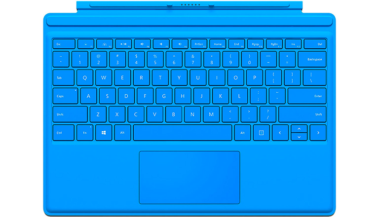 Microsoft Surface Pro 4 Type Cover Bright Blue QC7-00002