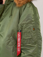 Куртка Alpha Industries N-2B Parka 5XL Sage Green - изображение 4