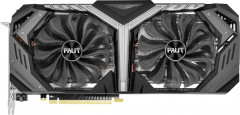 Palit PCI-Ex GeForce RTX 2070 GameRock 8GB GDDR6 (256bit) (1410/14000) (Type-C, HDMI, 3 x DisplayPort) (NE62070U20P2-1061G)