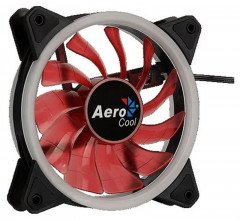 Вентилятор Aerocool Rev Red LED 120мм, 3-pin, 4-pin
