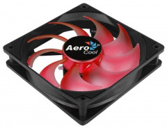 Вентилятор Aerocool Motion 12 Plus Red LED 120мм, 3-pin, 4-pin