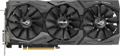 Asus PCI-Ex GeForce GTX 1080 ROG Strix 8GB GDDR5X (256bit) (1607/10010) (DVI, 2 x HDMI, 2 x DisplayPort) (STRIX-GTX1080-8G)