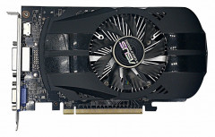 Видеокарта ASUS GeForce GTX750 1Gb DDR5 VGA DVI HDMI Refurbished