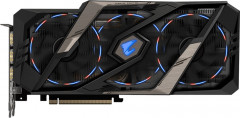 Gigabyte PCI-Ex GeForce RTX 2070 Aorus 8GB GDDR6 (256bit) (1770/14000) (Type-C, 3 x HDMI, 3 x Display Port) (GV-N2070AORUS-8GC)