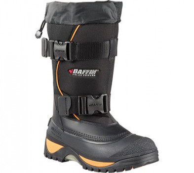Мужские сапоги Baffin Wolf Snow Boot Black Expedition Gold 44.5 (100163) b085692da0ab6