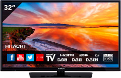 "Телевизор Hitachi 32HB4T62 32"", FHD, Smart TV! (8022556800246) - Уценка"