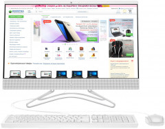HP All-in-one 24-f0036ur (4GT37EA) White