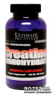 Креатин Ultimate Nutrition Creatine MONOHYDRATE - 300 г (099071000569)