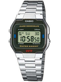 Часы CASIO A163WA-1QES Collection 33mm 3ATM