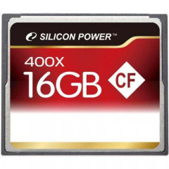 Карта памяти Silicon Power 16Gb Compact Flash 400x (SP016GBCFC400V10)